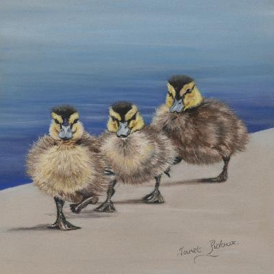 Left Right, Left Right-Janet Pidoux-Giclee Print