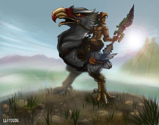 lefty-joe-eagle-warrior