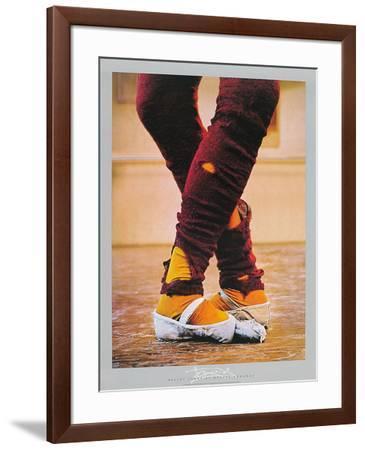 Leg Warmers-Harvey Edwards-Framed Art Print