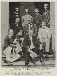 Legal Members of the Reform Committee, Johannesburg