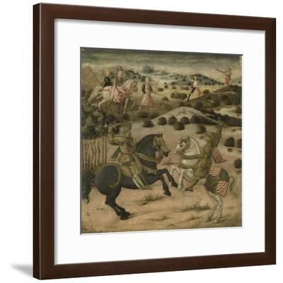 Legend of a Knight--Framed Art Print