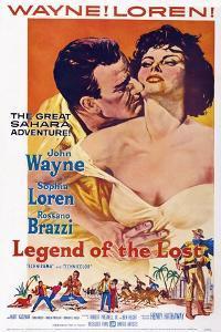 Legend of the Lost, John Wayne, Sophia Loren, 1957