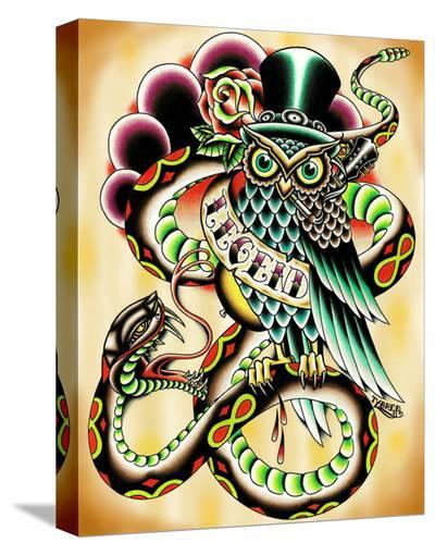 Legend-Tyler Bredeweg-Stretched Canvas Print