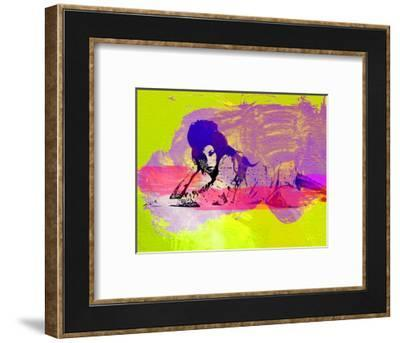 Legendary Amy Watercolor I-Olivia Morgan-Framed Art Print