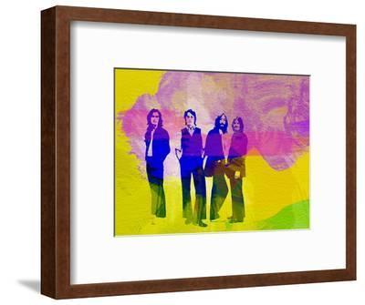 Legendary Beatles Watercolor-Olivia Morgan-Framed Premium Giclee Print