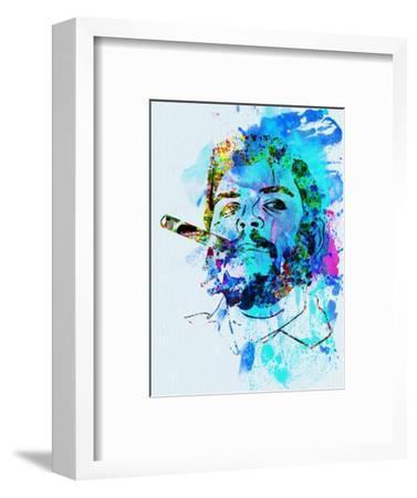 Legendary Che Watercolor-Olivia Morgan-Framed Art Print