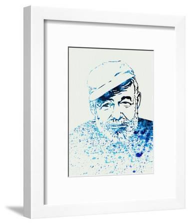 Legendary Hemingway Watercolor-Olivia Morgan-Framed Art Print