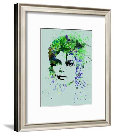 Legendary Michael Watercolor II-Olivia Morgan-Framed Art Print