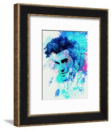 Legendary Morrissey Watercolor-Olivia Morgan-Framed Art Print