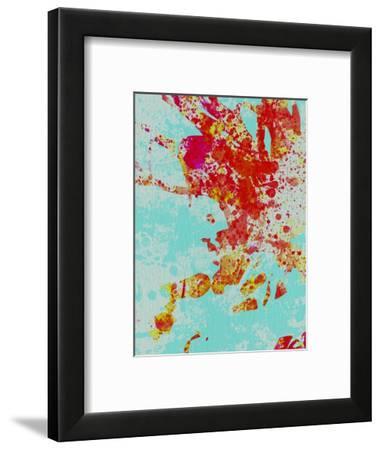Legendary Reage Watercolor II-Olivia Morgan-Framed Art Print