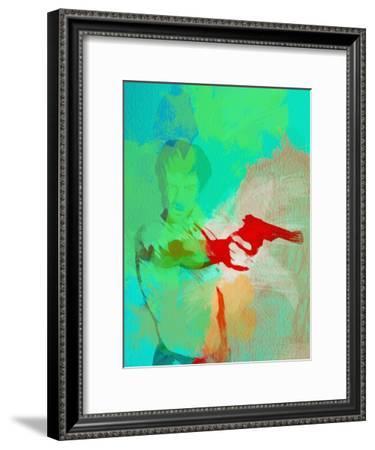 Legendary Taxi Driver Watercolor-Olivia Morgan-Framed Art Print