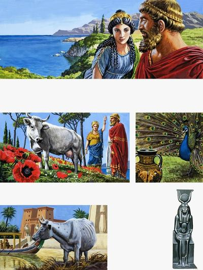 Legends of Ancient Greece: Queen of Beauty-Roger Payne-Giclee Print