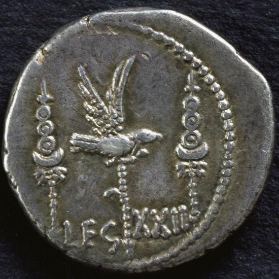 Legionary Denarius of Mark Antony--Giclee Print
