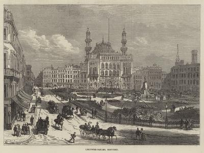 Leicester-Square, Restored-Frank Watkins-Giclee Print