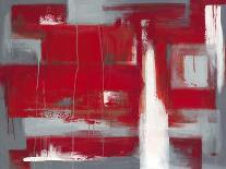 Red Abstract-Leigh Banks-Premium Giclee Print