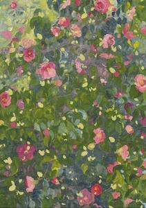 Camellia in Flower, 2014 by Leigh Glover