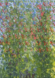 Sweet Peas, 2014 by Leigh Glover