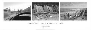 Surfrider Beach, May 14th, 1960 by Leigh Wiener