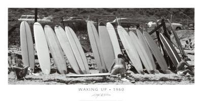 Waxing Up, 1960 by Leigh Wiener