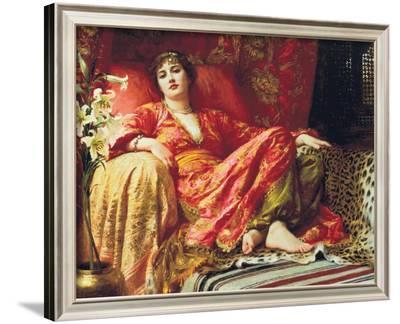 Leila, 1892-Frank Bernard Dicksee-Framed Giclee Print