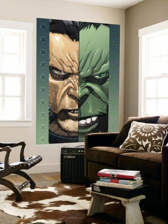 Ultimate Wolverine Vs. Hulk No.2 Cover: Logan and Hulk