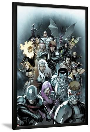 X-Men Legacy No.245 Cover: Cyclops, Avalanche, Angel, Colossus, Storm, and Gambit