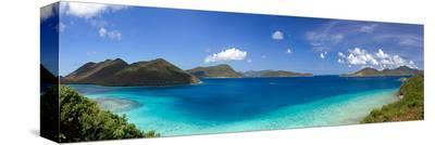 Leinster Bay Island of St John--Stretched Canvas Print