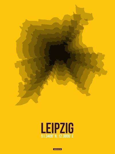 Leipzig Radiant Map 1-NaxArt-Art Print