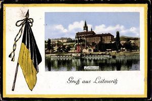 Leitmeritz Region Aussig,Ort, Dampfer Kaiser Wilhelm