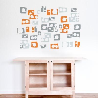 Lek (orange) Wall Decal--Wall Decal