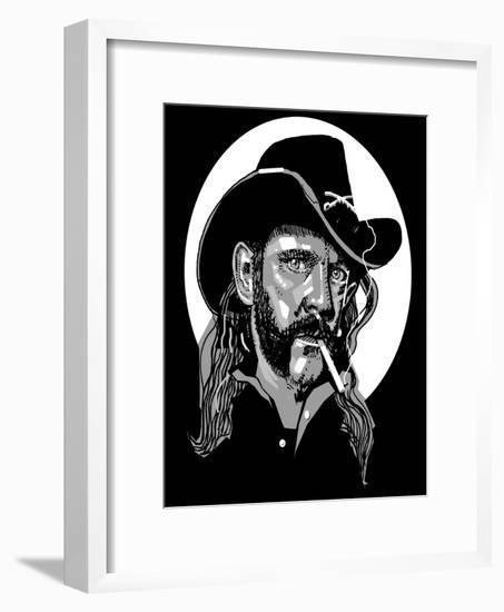 Lemmy-Thomas MacGregor-Framed Giclee Print