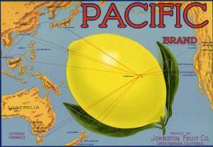 Lemon Fruit Label, 1940