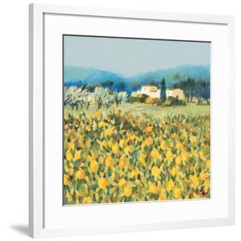 Lemon Grove, Tuscany-Hazel Barker-Framed Giclee Print