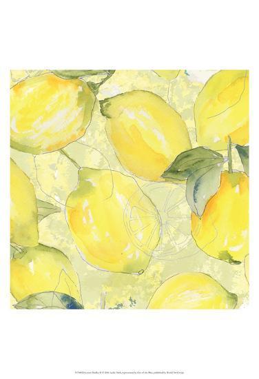 Lemon Medley II-Leslie Mark-Art Print
