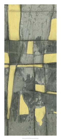Lemon on Grey II-Jennifer Goldberger-Premium Giclee Print