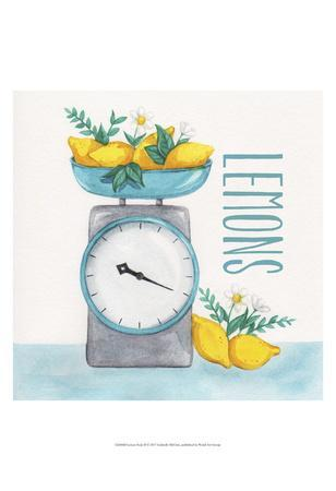 Lemon Scale II-Gabrielle McClure-Art Print