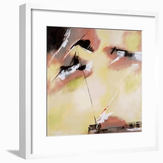 Lemon Sky Burst-Brent Abe-Framed Premium Giclee Print