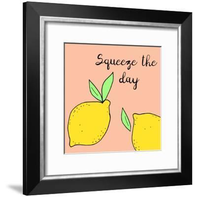 Lemon Squeeze I-Natalie Sizemore-Framed Art Print