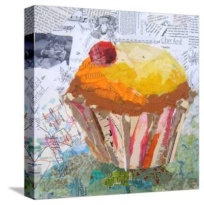 Lemon Tea Cake--Stretched Canvas Print