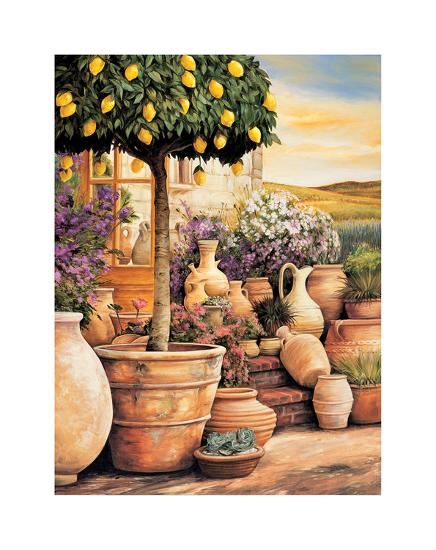 Lemon Topiary-Eduardo Moreau-Giclee Print
