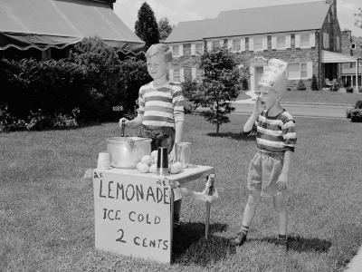 Lemonade Stall-H^ Armstrong Roberts-Photographic Print