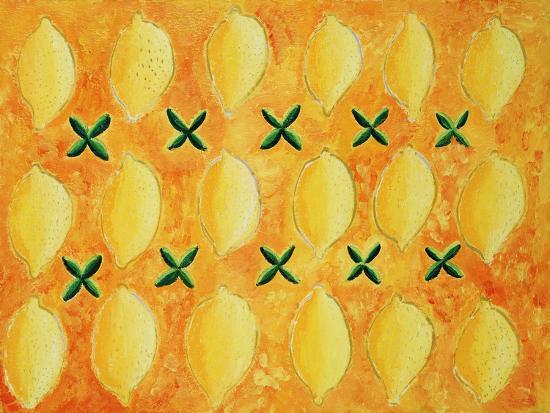 Lemons, 2004-Julie Nicholls-Premium Giclee Print