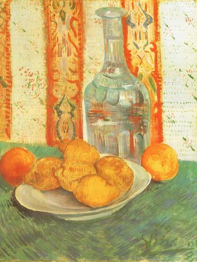 Lemons and Decanter, 1887-Vincent van Gogh-Giclee Print