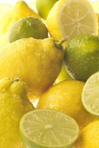 Lemons and Limes Close-Up