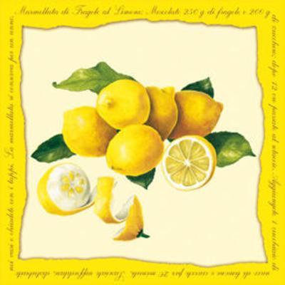 Lemons I--Art Print