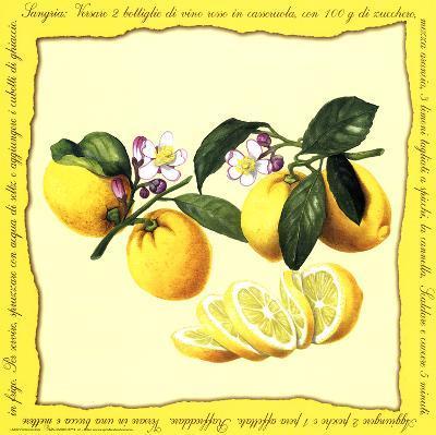 Lemons II--Art Print