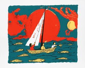 Sailboat by Lemsky