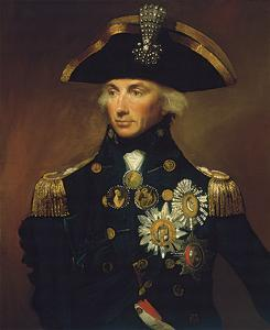 Admiral Sir Horatio Nelson by Lemuel Francis Abbott