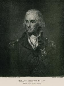 Horatio, Viscount Nelson by Lemuel Francis Abbott
