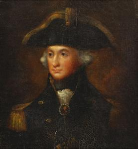 Portrait of Horatio, Lord Nelson by Lemuel Francis Abbott